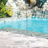 Outdoor Glass Fencing System