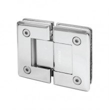 BINGO® SH-03 Brass Shower Hinge - Glass to Glass (180°)