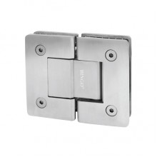 BINGO® SH-203-S Stainless Steel Shower Hinge - Glass to Glass (180°)