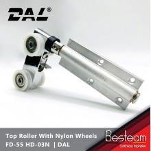 Folding Door Top Roller with Nylon Wheels | DAL® FD-55 HD-03N