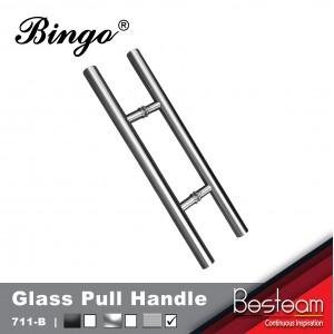 Bingo® 711B Glass Door Pull Handle Stainless Steel
