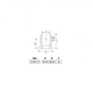 BINGO® SS-901 Shower Stabilizer Connectors