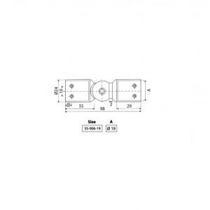 BINGO® SS-906 Shower Stabilizer Connectors