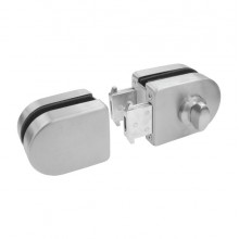 BINGO® DL-01 Glass Door Lock (Glass To Glass) Single or Double Key