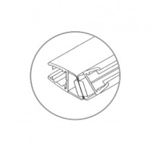 BINGO® WS-07 PVC Sealing Strip (Magnetic)