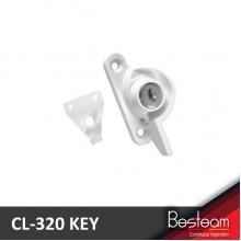 DAL® CL-320 KEY Window Crescent Locks with Key - Left