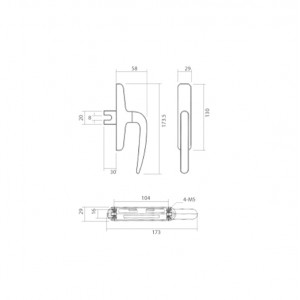 DAL® MH-001 Euro Handle with Single Accessories