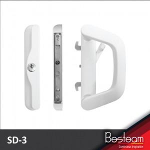 DAL® SD-3 Single Sliding Door Lock Built-in Hook Lock