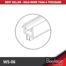 BINGO® WS-06 PVC Sealing Strip / Shower Screen Seal Strip Lining (2.5 Meter)