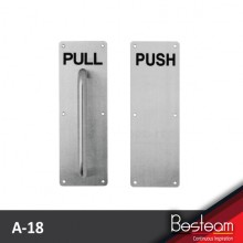 DAL® A-18 Pull Handle & A-19 Push Plate (SET)