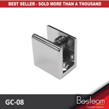 BINGO® GC-08 Shower Shelf Support Frameless Glass Clip