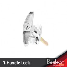 Solid T-Handle Lock for TNB / Garage / Truck / Cabinet