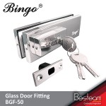 Bingo® BGF-50 Stainless Steel Glass Door Lock Patch Fitting