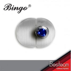 Bingo® FL03 Glass To Glass  Smart Fingerprint Glass Door Lock