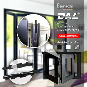 DAL® MSW-121 Folding Door Latch Bolt