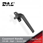 Casement Handle Solid Aluminium - Right | DAL® CW-608 ( 120 pcs Pack)
