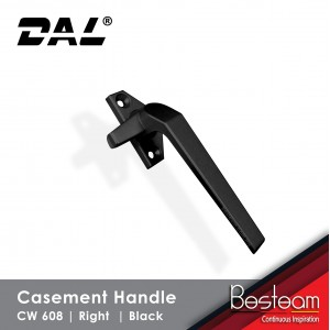 Casement Window Handle Solid Aluminium - Right | DAL® CW-608 ( 120 pcs Pack)