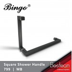 Square Shower Glass Door Handle  | 799 BINGO®
