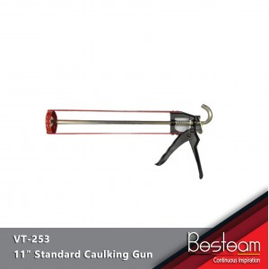 "11"" Standard Caulking Gun for 290 ml Silicone Sealant Gun  