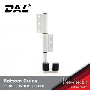 Bottom Guide for Folding Door  - Right/Left | DAL® 85-BG