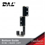 Bottom Guide for Folding Door  - Right/Left | DAL® 85-BG