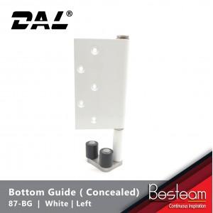Bottom Guide for Folding Door  - Concealed Right / Left  | DAL® 87-BG