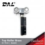 Folding Door Top Roller with Brass Wheel | DAL® 91-TR-B