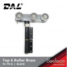 Top Roller with 6 Brass Wheel Folding Door | DAL® 93-TR-B