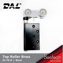 Folding Door Top Roller - Concealed with Brass Wheel | DAL® 94-TR-B