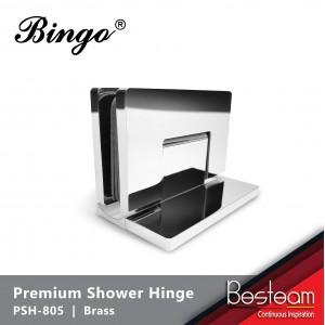 Bathroom Glass Shower Cubicle Premium Shower Hinge screws concealed PSH-805 - Glass to Wall 90° | BINGO®