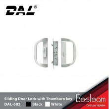 DAL-602 Sliding Door Lock with Thumburn Key Aluminium