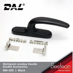 Multipoint Window Euro Handle with Double Accessories | DAL® MH-020