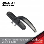Multipoint Window Euro Handle with Single Accessories | DAL® MH-019