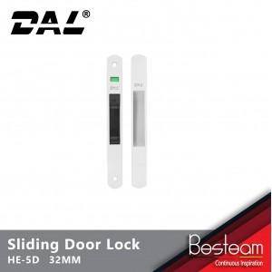 Sliding Door Lock Aluminium - HE-5D | DAL