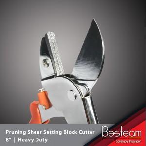 Pruning Shear Setting Block Cutter Heavy Duty