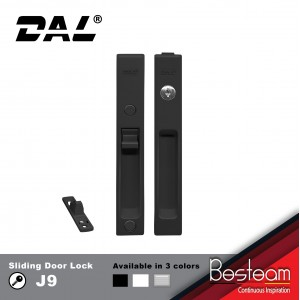 J9 Sliding Door Lockset With Key 32mm-40mm | DAL®