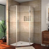 Brass Shower Glass Door (Hinge)