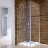 S/Steel Shower Glass Door (Hinge)